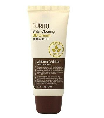 Purito Snail Clearing BB Cream SPF38 PA+++ (30ml 1.01oz)