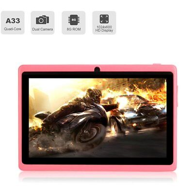 7 Zoll Tablet Pc 8Gb Android 4.4 Quad Core Kinder Pad Hd Wifi Dual Kamera Tr