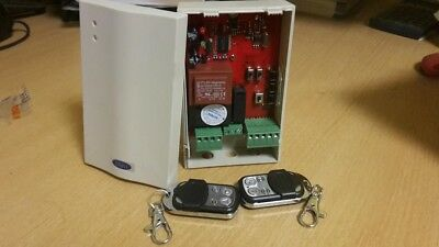 ELLARD ATHENA REMOTE CONTROL UNIT WITH 2 x HAND SETS FOR ROLLER SHUTTER DOORS