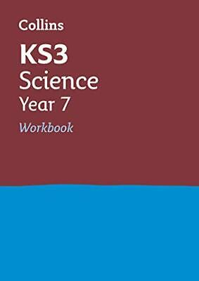 KS3 Science Year 7 Workbook by Collins KS3 New Paperback Book