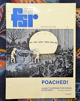 FLYING SAUCER REVIEW MAGAZINE Vol 26 No.3 1980 Aliens Take Cattle Cheshire FSR