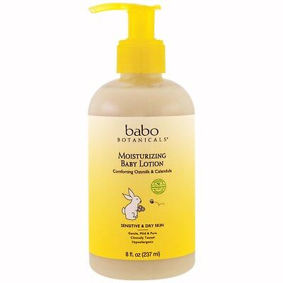 Moisturizing Baby Lotion, Comforting Oatmilk & Calendula, 8 fl oz (237 ml)