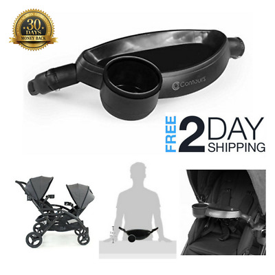 Contours Stroller Child Tray with Cup Holder -Compatible with Contours Bliss, LT