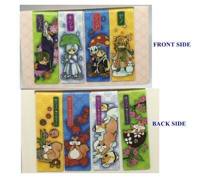 4 Pcs Novelty Cartoon Animal Magnetic Bookmarks Note Memo Stationery Bookworm
