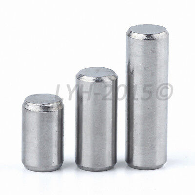 M4 M5 M6 - Dowel Pins Cylindrical Pin - A2 304 Stainless Steel