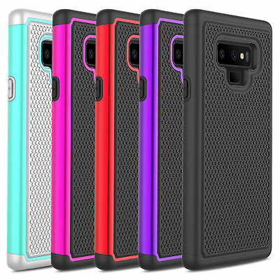 Slim Hybrid Armor Shockproof Rugged Rubber Case Cover For Samsung Galaxy Note 9