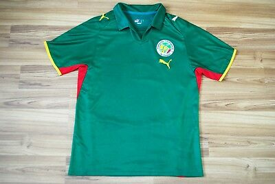 low priced d8ad8 de9e1 SENEGAL NATIONAL TEAM Caf Away Football Shirt 2007 2008 2009 Jersey Size  Large