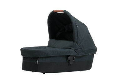 Steelcraft Strider Compact Bassinet - Black Linen