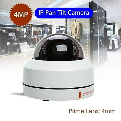 Smart IP 4MP Camera Dome Security Infrared Night Vision Pan Tilt 1080P Outdoor