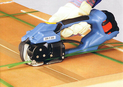 ORT-200 Electric PP/PET Strapping Machine Battery-powered Hand Packing Tool