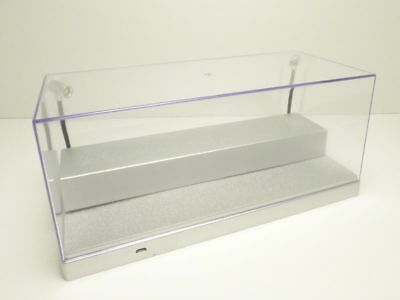 1:24 1:43 Display case 2 LED Lights Stage model cars SILVER Micro USB WF