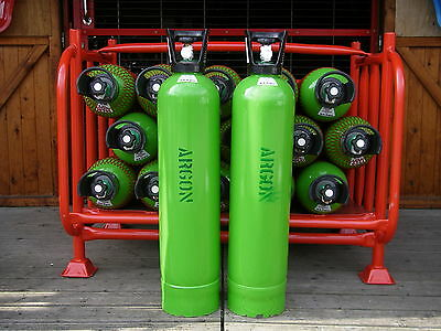 ArgonHP (High Purity)Gas Cylinder, 20litre size, 200bar fill*  for Tig Welding.