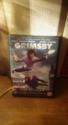 Grimsby [DVD] [2016] 15 Action Comedy Working Adventure Region 2 Very Good