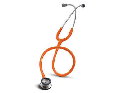 3M 2155 Littmann Classic II Pediatric & Infant Stethoscope, 28 in. Orange Tubing