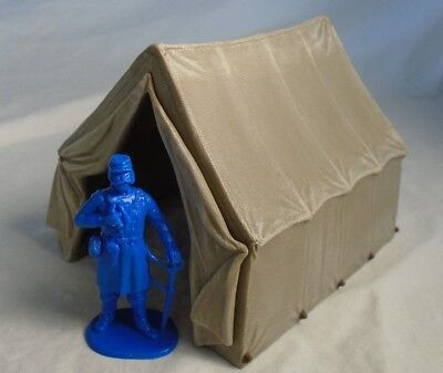 American Civil War Officer's Tent for Toy Soldiers 54-60MM - Made by Safari NEW