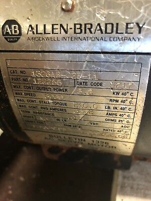 1326ab-c2e-11 LOT OF 5 Motors