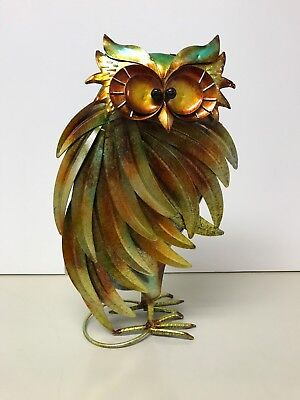 Pier One Imports Decorative Metal Owl - NWT