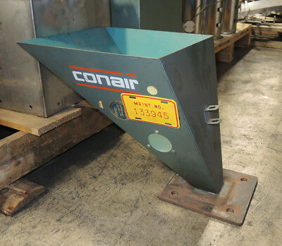 """Material Hopper 25 lb. Capacity 12"""" x 12"""", 12"""" Height - Pulled from Color Feeder"""
