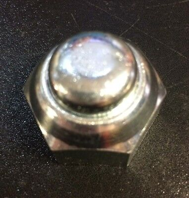 Rear wheel hub nut 16mm for Lambretta series 1, 2 & 3