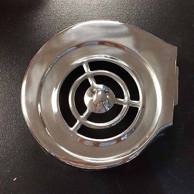 Fly wheel cowl cover (long fin) stainless steel for Lambretta