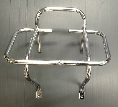 Rear back carry rack 1 way chrome for Vespa PX & LML Star by Cuppini