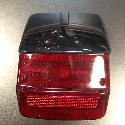 Rear light / tail lamp assembly with black top for Vespa Sprint / Rally