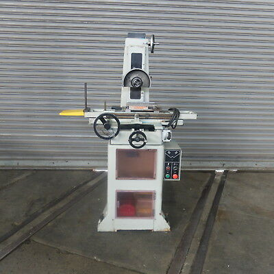 """6"""" x 18"""" MSC (Sunny) Hand Feed Surface Grinder, New 1981"""