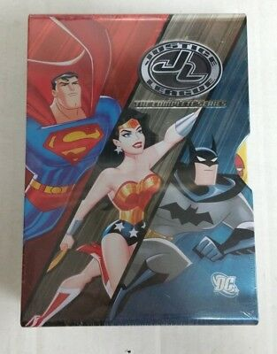 The Justice League: The Complete Series 14 Disc DVD Set AUTHENTIC NEW