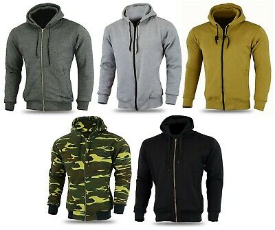 ARmoured  Motorcycle Mens Hoodie Full Protective Armour Lined Fleece Protection
