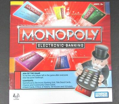 Monopoly Electronic Banking Replacement Parts 16 Chance Cards Us