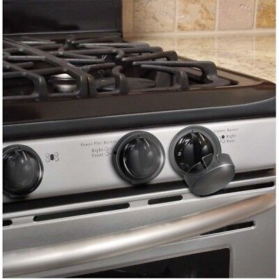 Stove Knob Safety Covers Child Proof Kid Health Protectors Lock Kitchen Set of 5