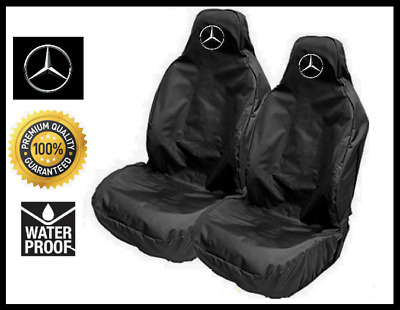MERCEDES-BENZ Logo Sports Seat Covers for Mercedes SLK / AMG