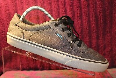 VANS OFF THE wall Gray Yellow Trujillo SG Classic Skate Shoes Men s ... 942760737