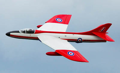 HAWKER HUNTER (Spannweite 1727 mm). Modellbauplan