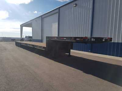 Extendable Trailking step deck trailer, 3 axle, load capacity 86300lbs