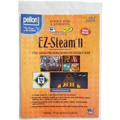 "Pellon * EZ-Steam II * 5 Sheets 12"" x 9"""
