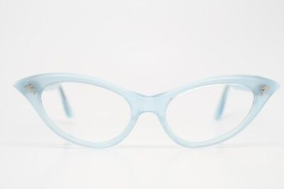 Small Baby Blue Vintage cat eye glasses