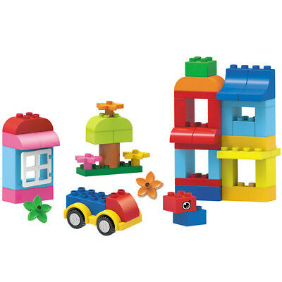 49Pcs Cabin Building Blocks City DIY Creative Bricks Educational Toy Gift For