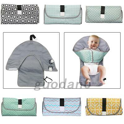 Waterproof Baby Nappy Changing Mat Foldable Washable Travel Diaper Mat Newest UK