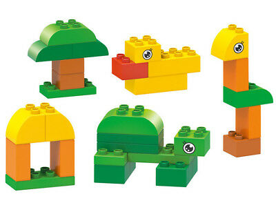 30Pcs Forest Building Blocks City DIY Creative Bricks Educational Toy Gift For