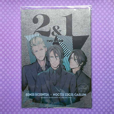 """NEW BL Doujinshi: Final Fantasy XV 15 FF15 """"Two and One"""" Ignis x Noctis JAPAN"""