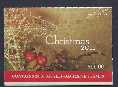 Australia 2011 Christmas Tree & Gift Booklet Gen 243210 B503a