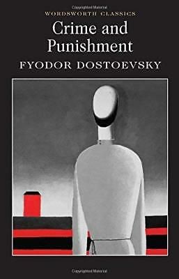 Crime and Punishment: With selected exce by Fyodor Dostoevsky New Paperback Book