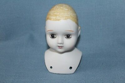 Porcelain Doll Head Painted Face