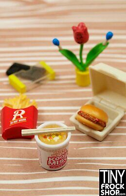 Barbie Re-ment Youth Days High School Set #7 Fast Food