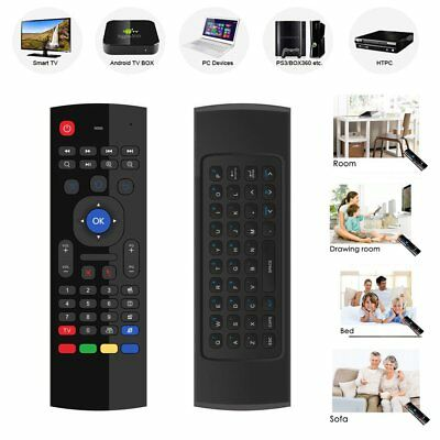 MX3 Remote-Control Wireless Air Fly Mouse Keyboard for PC Smart TV Android BOX
