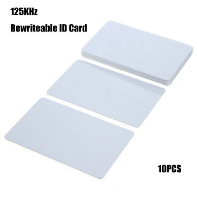 10 x T5577 EM4305 125Khz Reproducible Writable ID Cards Keyfobs RFID Card New