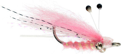 Squimp Pearl Redfish Trout Snook Bonefish Permit Snapper Fly Fishing Flies 6