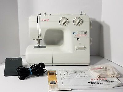 SINGER AUTOMATIC SEWING Machine Model 40 Foot Pedal 40 Stitch New Singer 40 Stitch Sewing Machine