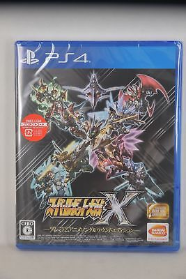 PS4 Super Robot War X (Japanese Limited Premium Animation Song & Sound Edition)